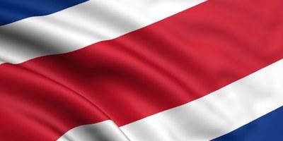 Drapeau de Costa Rica